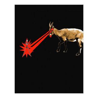 Laser Goat Letterhead