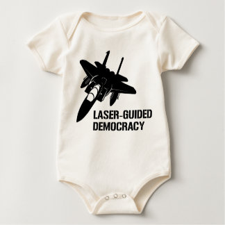 Laser-Guided Democracy / Peace through Firepower Bodysuit