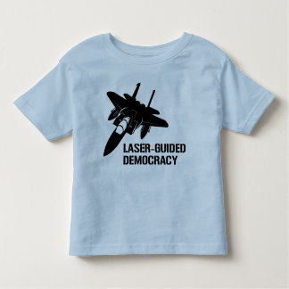 Laser-Guided Democracy / Peace through Firepower Shirts