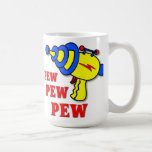 Laser Gun Pew Pew Pew Funny Mug