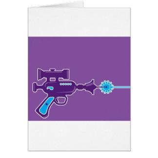 Laser Gun Vector Card