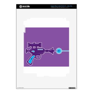 Laser Gun Vector Skin For iPad 3