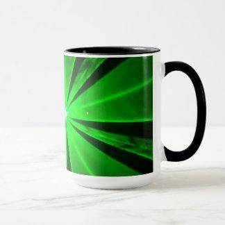 Laser lights - mug