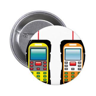 Laser measuring device vector button
