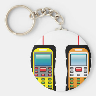 Laser measuring device vector keychain