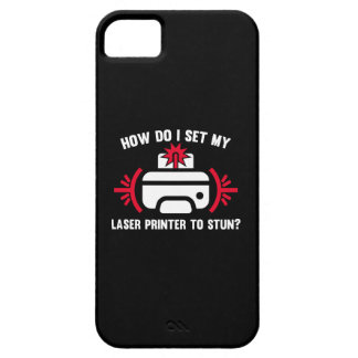 Laser Printer iPhone SE/5/5s Case