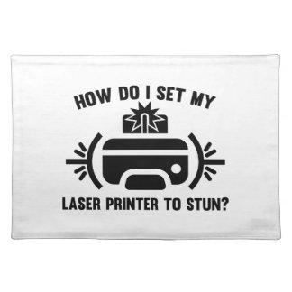 Laser Printer Placemat