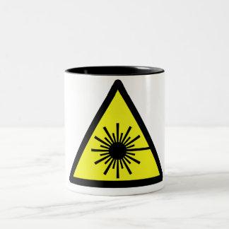 Laser_Radiation Taza De Café