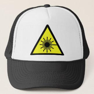 Laser_Radiation Trucker Hat