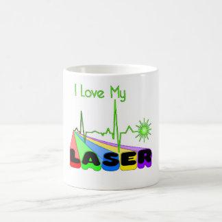 Laser Rainbow Coffee Mug