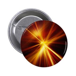 Laser rojo y del naranja Starburst Pin