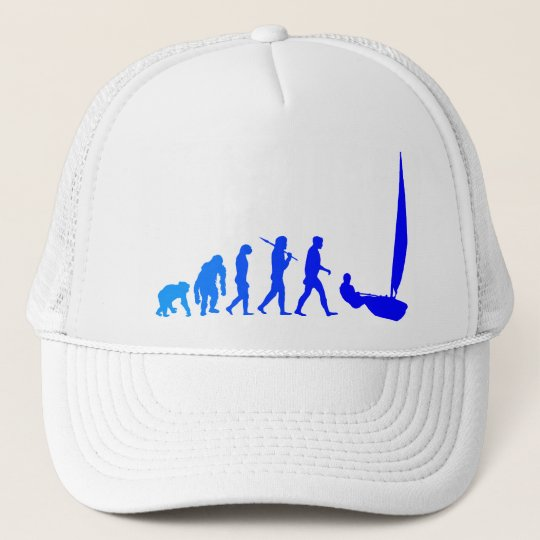 laser sailing sailors blue sail gifts and tees trucker hat
