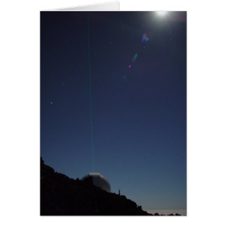 Laser to the Stars Greeting Card