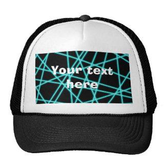 Laser Trucker Hat