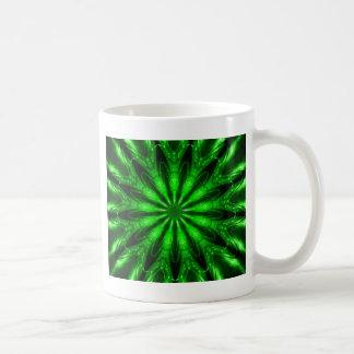 Laser verde taza