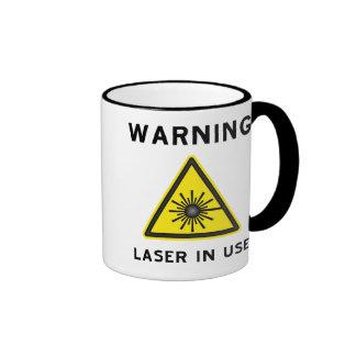 Laser Warning Mug