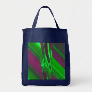 LaserArt 02 (L) Grocery Tote Bag
