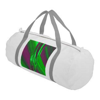 LaserArt 02 (L) Gym Duffle Bag