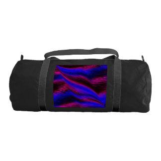 laserArt 04 (L) Gym Duffle Bag