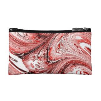 laserArt 05 red (L) Makeup Bags