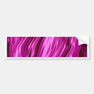 laserArt 12 hot pink (I) Car Bumper Sticker