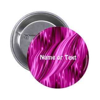 laserArt 12 hot pink (I) 2 Inch Round Button