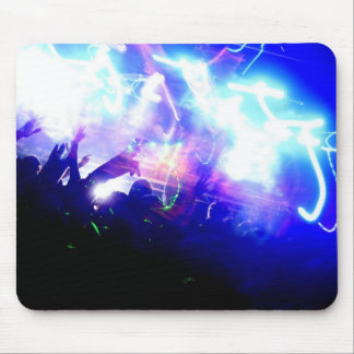 Lasers & Crowd Mouse Pad