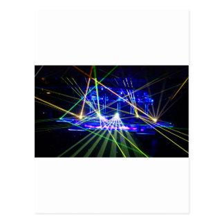 Lasers Postcard