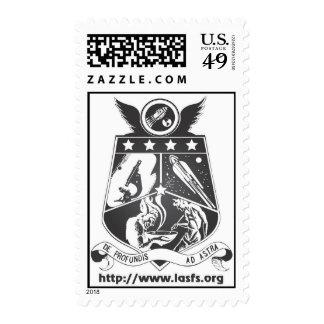 LASFS Logo Postage Black and White
