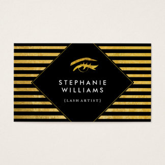Lash Artist Business Card Template