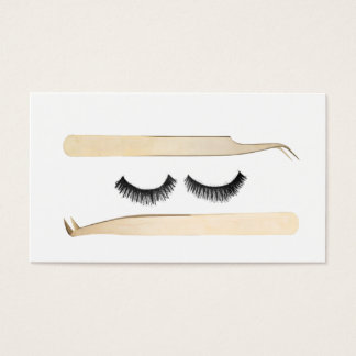 Lash Artist Tools Business Card