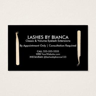 Lash Artist Tools Business Card