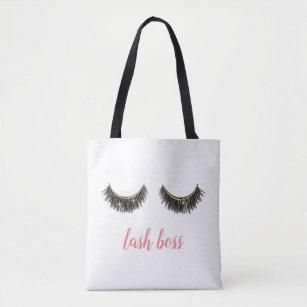 28a7da86029 Lash Boss Eyelash Extensions Makeup Artist Tote Bag