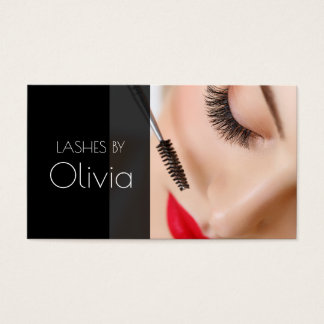 Lash Extensions Beauty Salon Business Card
