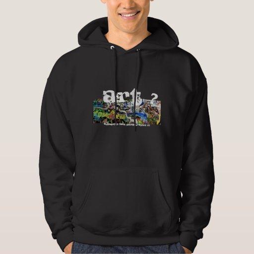 LASH- hoodie graffiti (art ?) design