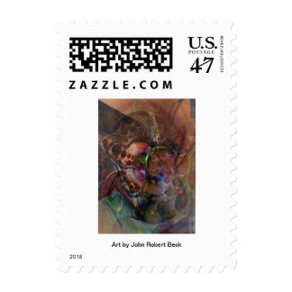 Lash Out Postage Stamp