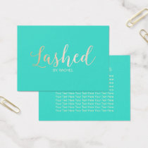 Lashed Makeup Artist Aftercare Instructions