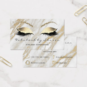Snapchat business cards templates zazzle lashes extension snapchat instagram gold marble2 business card colourmoves