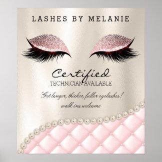Lashes Eyelash Makeup Poster Pretty Eyes