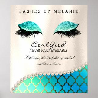 Lashes Eyelash Makeup Poster Pretty Eyes Moroccan