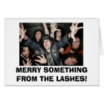LASHES GREETING CARD!