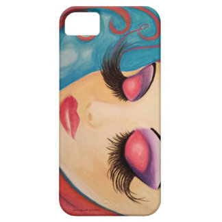 """""""Lashes"""" Phone Case Original Art by LaurieSmith"""