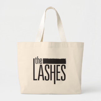 LASHES TOTE BAG! JUMBO TOTE BAG