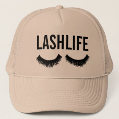 Lashlife Baseball Hat at Zazzle