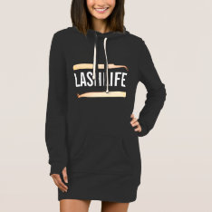 Lashlife Hoody Dress at Zazzle