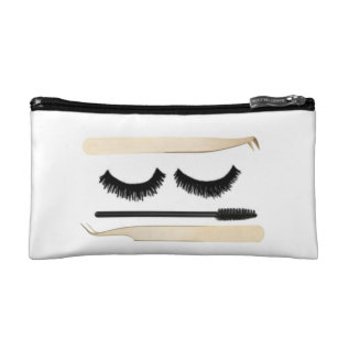 Lashlife Small Cosmetic Bag at Zazzle