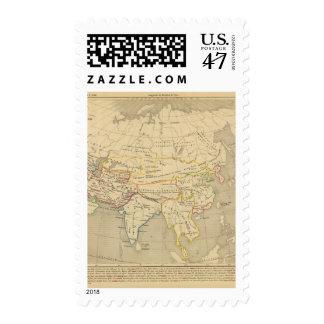 L'Asie, 322 sistemas de pesos americanos l'an JC Estampilla