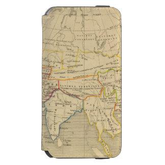 L'Asie, 322 sistemas de pesos americanos l'an JC Funda Billetera Para iPhone 6 Watson