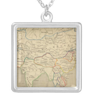 L'Asie, l'an 1220 ap JC Silver Plated Necklace