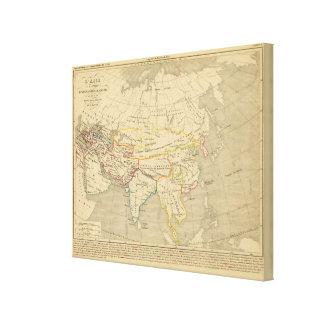 L'Asie, l'an 322 av JC Canvas Print